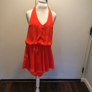 Bright orange jumper size Large